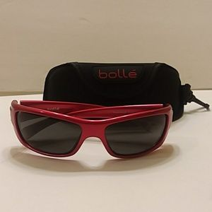 Bolle Copperhead Red Metallic sunglasses and